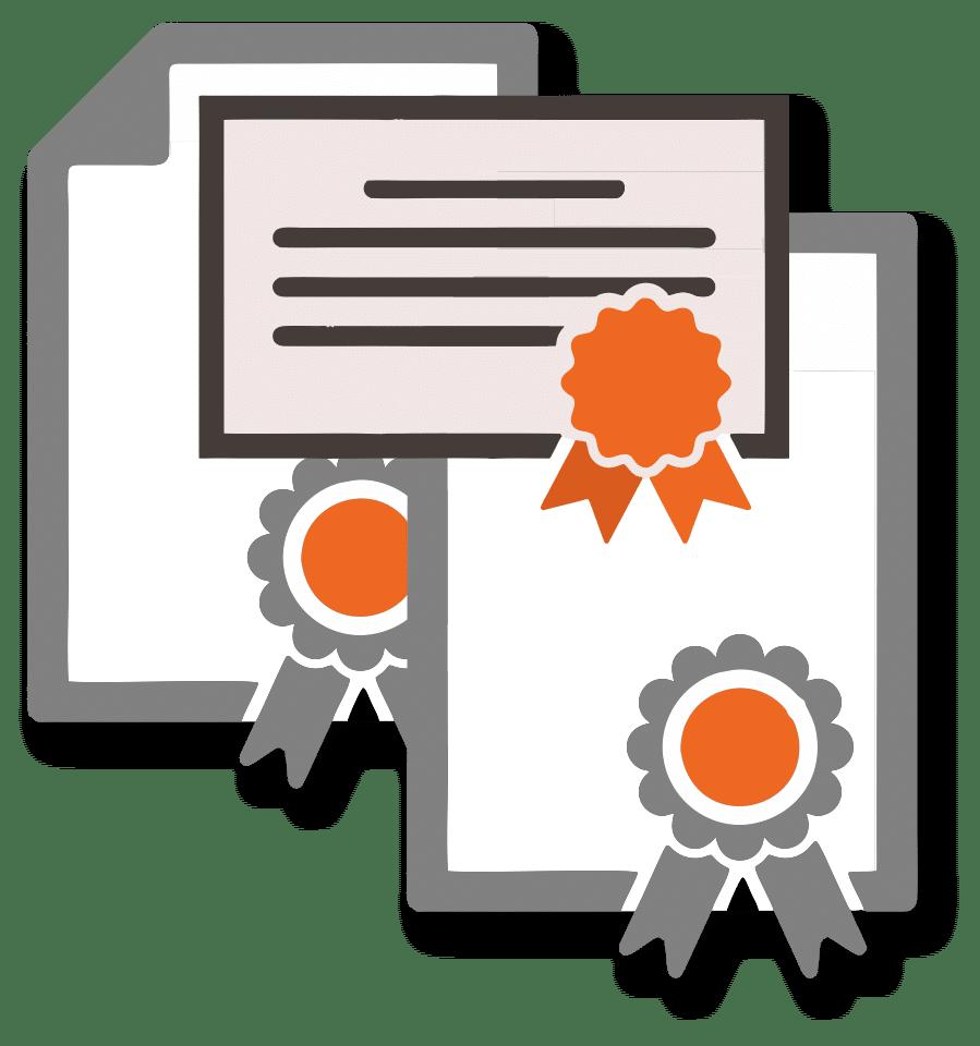 Статусы и сертификаты