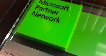 Сертификат партнера Майкрософт