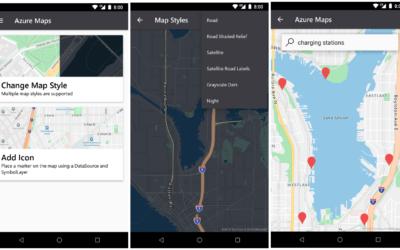 Усиление мобильности с помощью новых служб Azure Maps и SDK