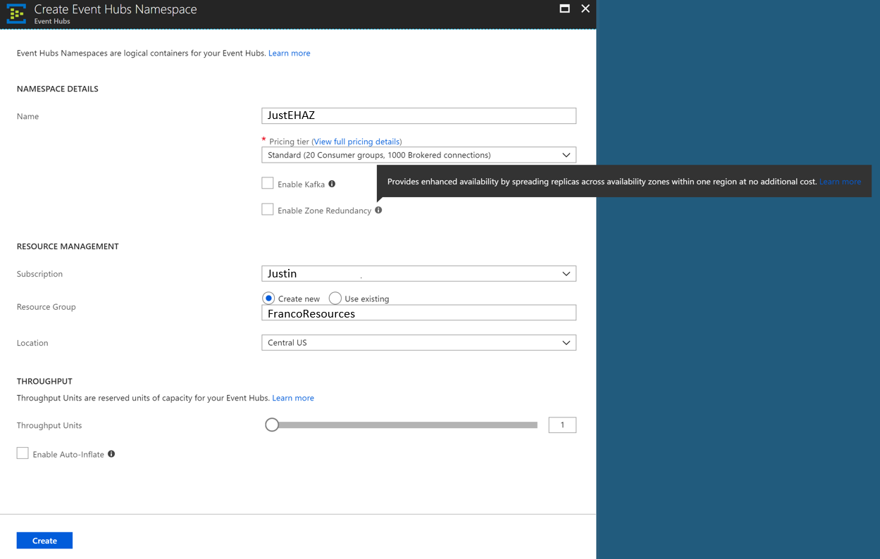 Расширение доступности с Azure Service Bus и Azure Event Hubs