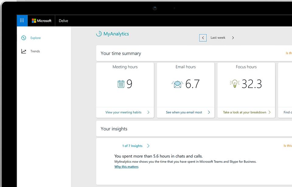Фитнес-трекер для работы MyAnalytics стал доступнее