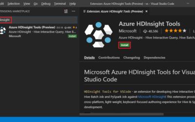 Инструменты HDInsight для кода Visual Studio теперь в общем доступе