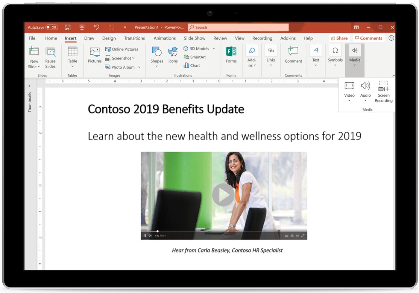 Новинки Microsoft 365 в январе