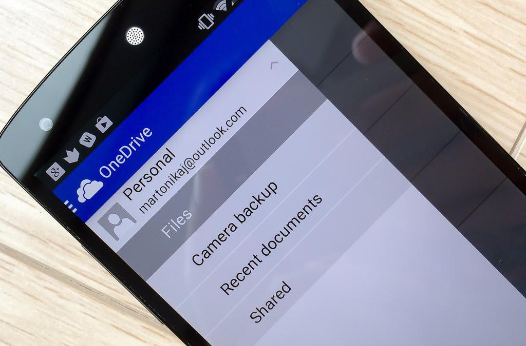Как пользоваться OneDrive на Android?