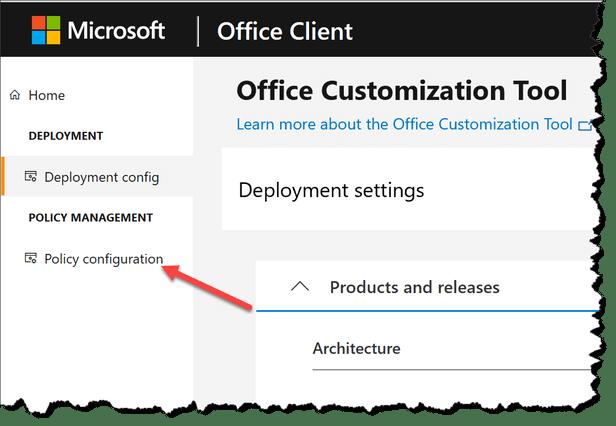 Анонсирована новая облачная служба управления политикой для Office 365 ProPlus