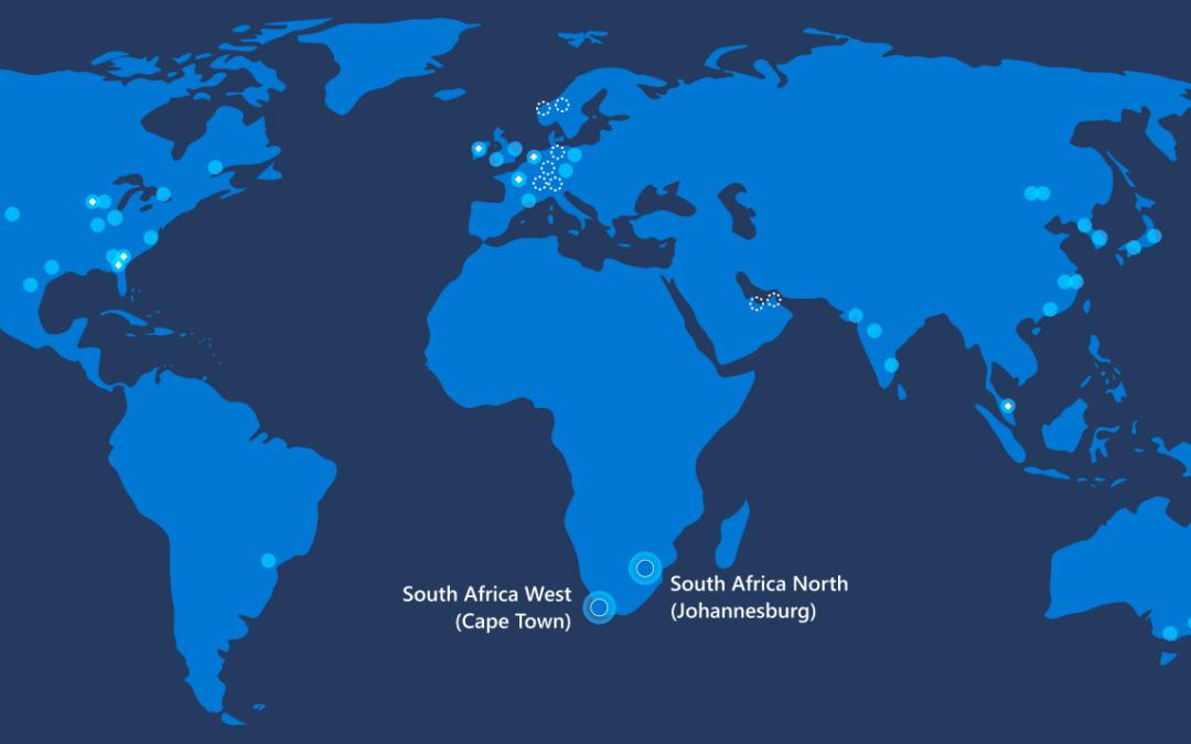 Microsoft открывает первые ЦОД с общей доступностью Azure в Африке