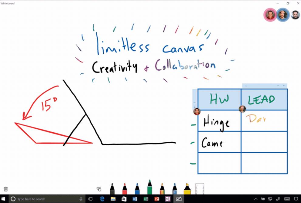 Интеграция Whiteboard в Teams и дополнительные нововведения