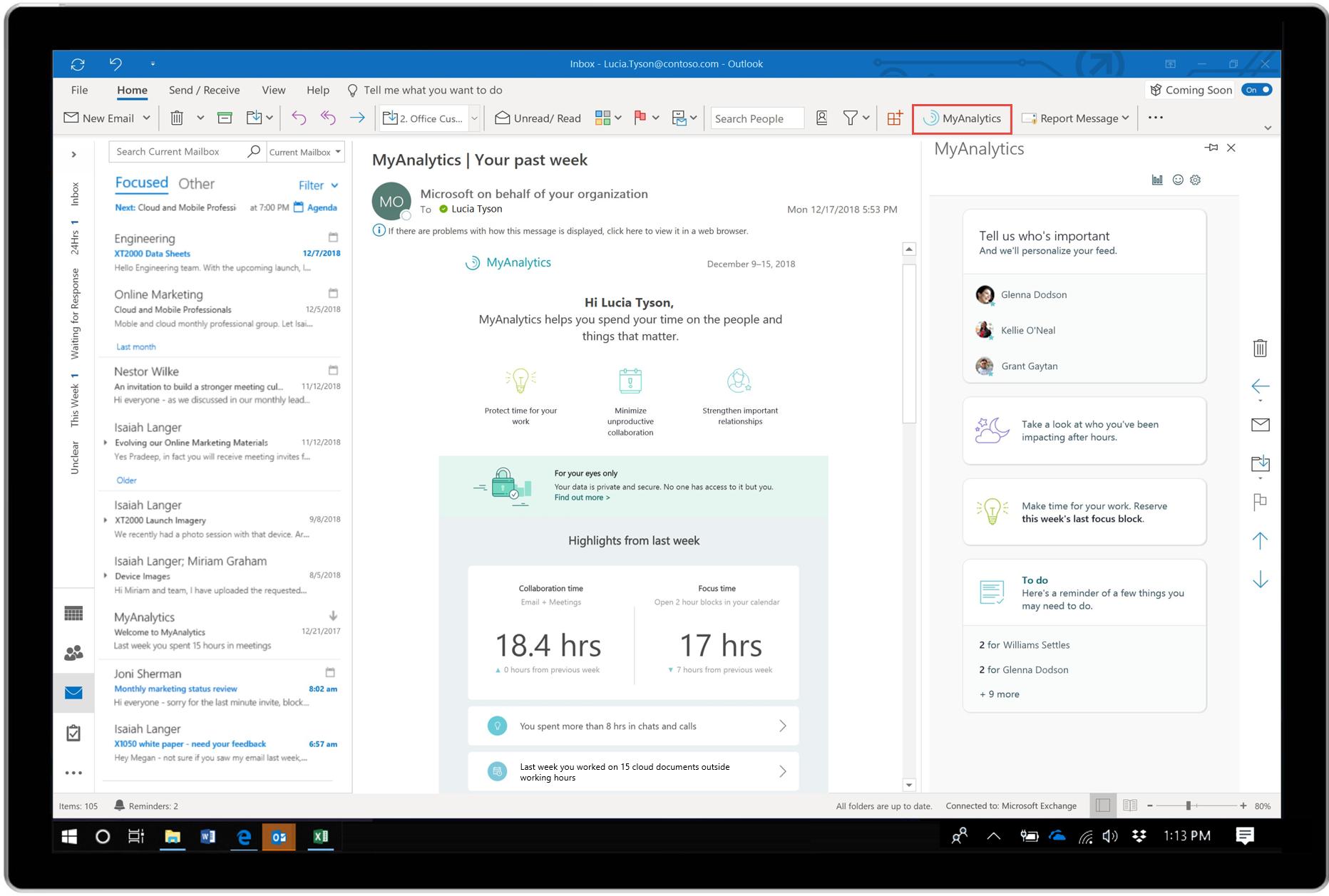 Минимизация отвлекающих факторов благодаря новому ИИ в Microsoft 365