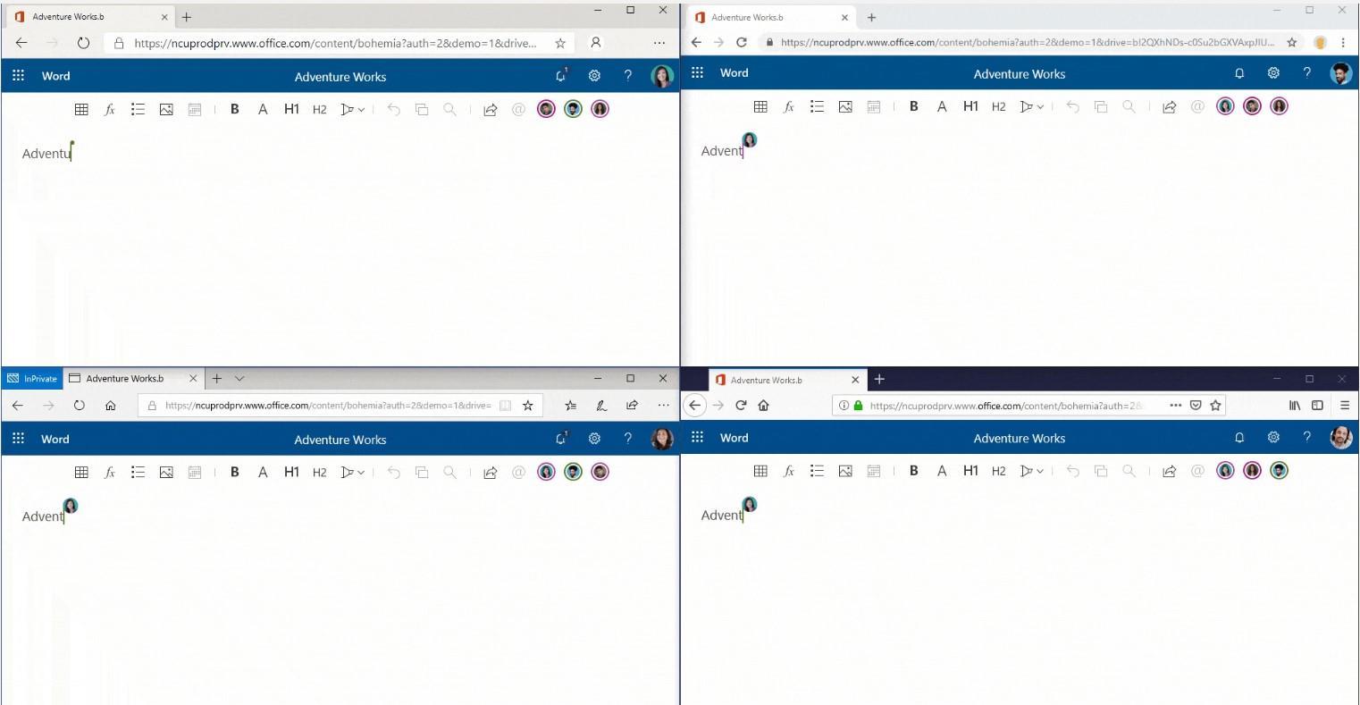 Новые функции в Microsoft 365, ориентированные на людей