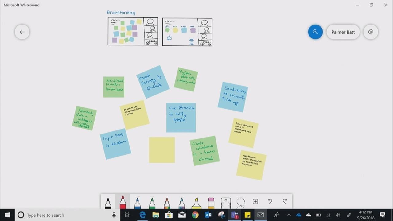 Анонс новинок Whiteboard для Surface Hub