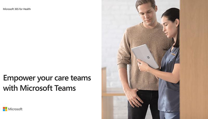 Microsoft Teams упрощают задачи, поставленные перед медработниками