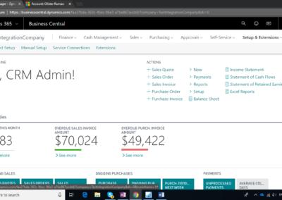 Microsoft Dynamics CRM 365 7
