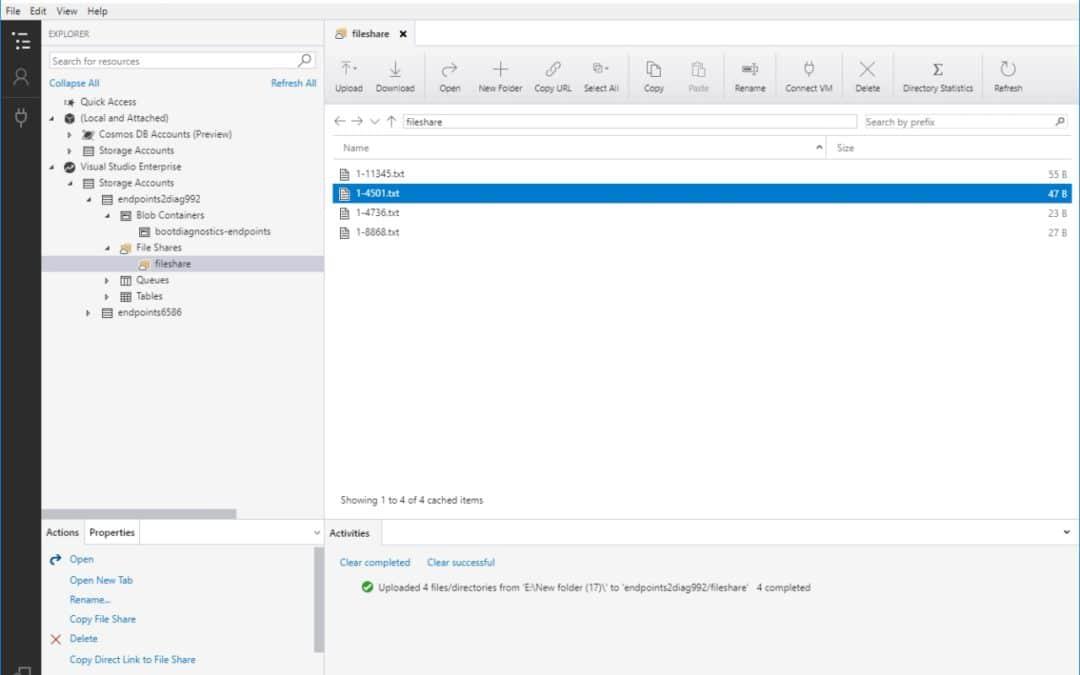 Более вместительные и мощные файловые хранилища Azure теперь доступны в тестовом режиме