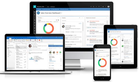 Microsoft Dynamics 365 для продаж 1