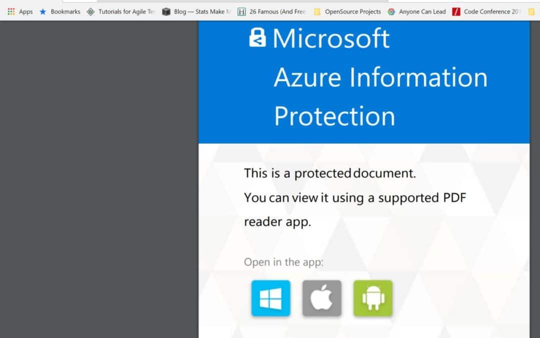 Adobe Acrobat выбирает Microsoft 365 для защиты встроенных приложений
