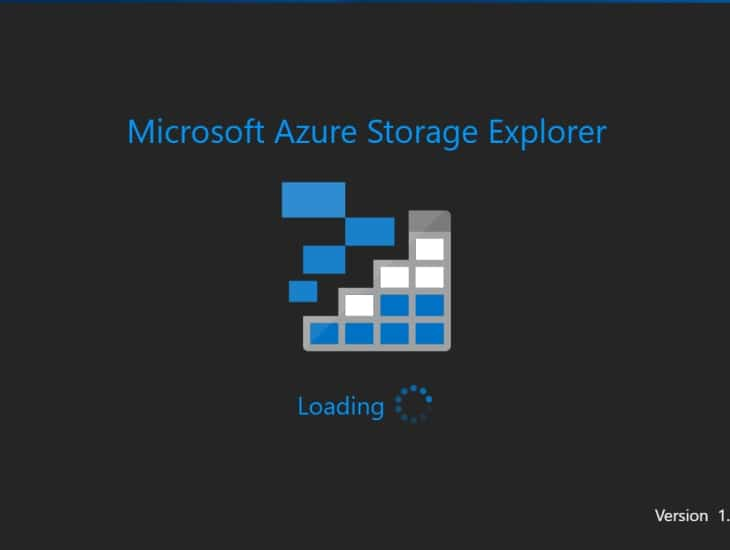 Обновление Azure Storage Explorer до версии 1.10.0