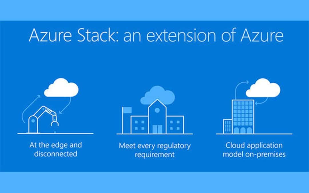Расширение пакета Azure Stack для запуска гибридных приложений