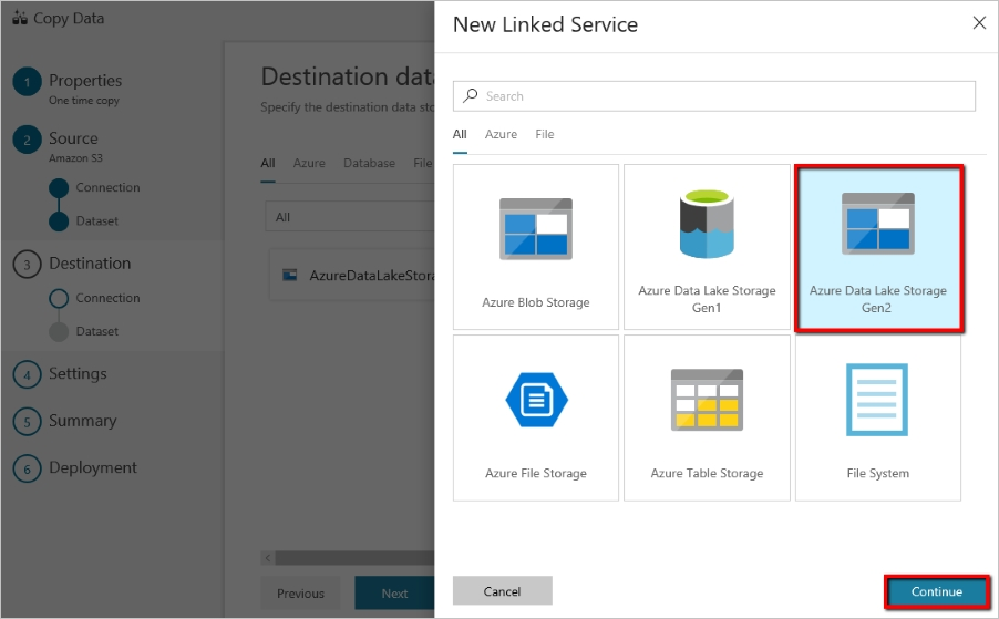 Расширенные возможности программирования файловой системы в Azure Data Lake Storage