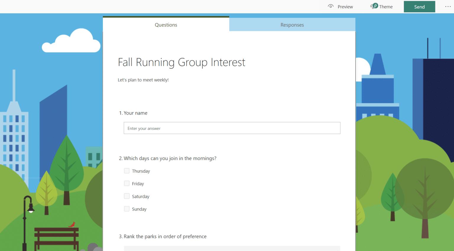 Опрашивайте своих друзей и семью или устраивайте для них викторину с помощью Microsoft Forms. Сервис теперь доступен для личного использования