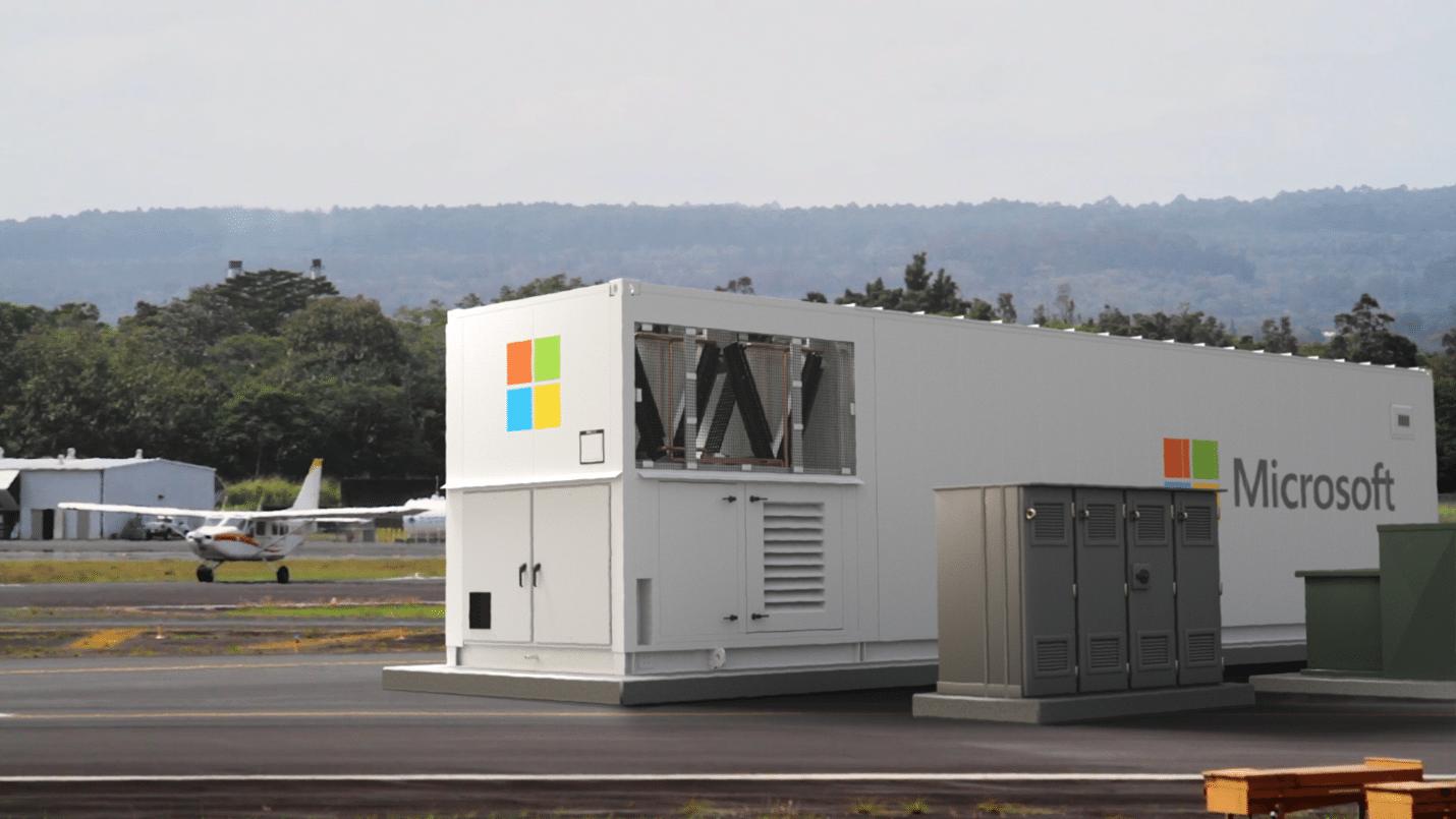 Представляем вашему вниманию сервис Microsoft Azure Modular Datacenter