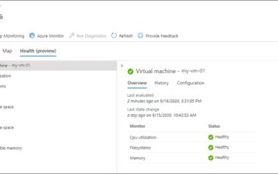 Новая функция – отслеживание состояния виртуальных машин в Azure Monitor