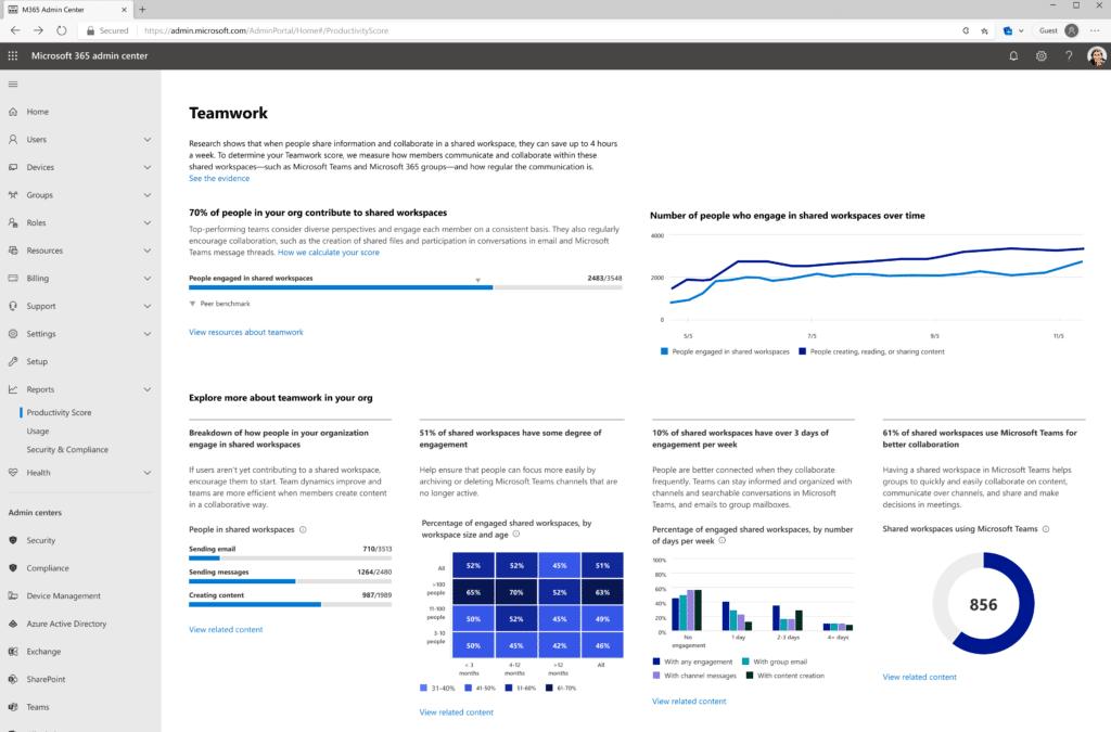 Оценка производительности труда и персонализация – что нового в Microsoft 365 было добавлено в октябре