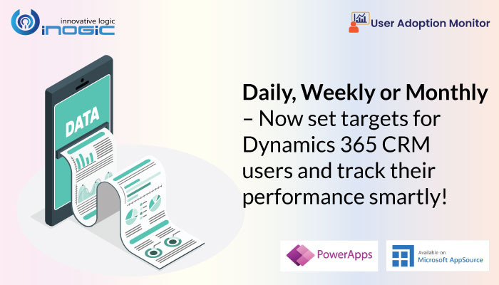 Ежедневно, еженедельно или ежемесячно – теперь вы можете устанавливать цели для пользователей Dynamics 365 CRM и отслеживать их выполнение