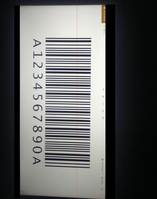 Использование управления сканером штрих-кода или QR-кода на настраиваемой HTML-странице в мобильном приложении Resco
