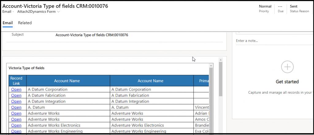 Экспорт и отправка по электронной почте данных из Dynamics 365 CRM/Power Apps Views Data всего в один клик!