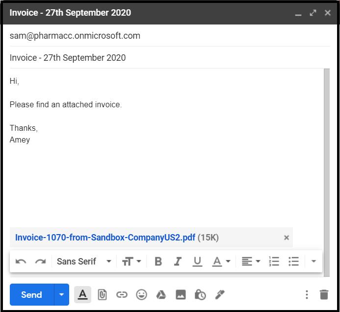 Процесс утверждения счетов с использованием Microsoft Teams и модели ИИ – Часть 1