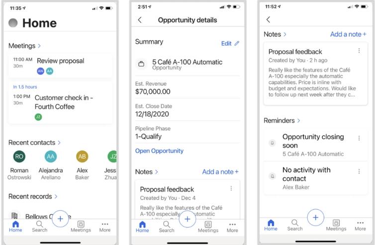 Включение мобильного приложения Dynamics 365 Sales Preview в расширенных настройках