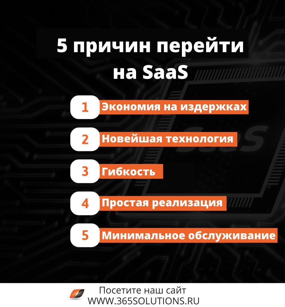 5 причин перейти на SaaS 1